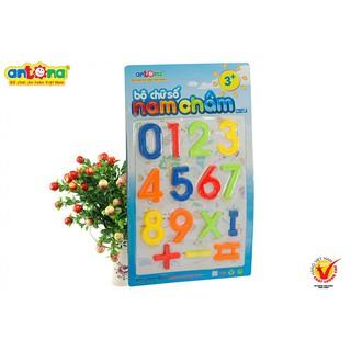 Đồ chơi -Combo 4 vỉ nam châm bao gồm 1 vỉ chữ thường – 1 vỉ chữ hoa – 1 vỉ số – 1 vỉ hình học – ANTONA