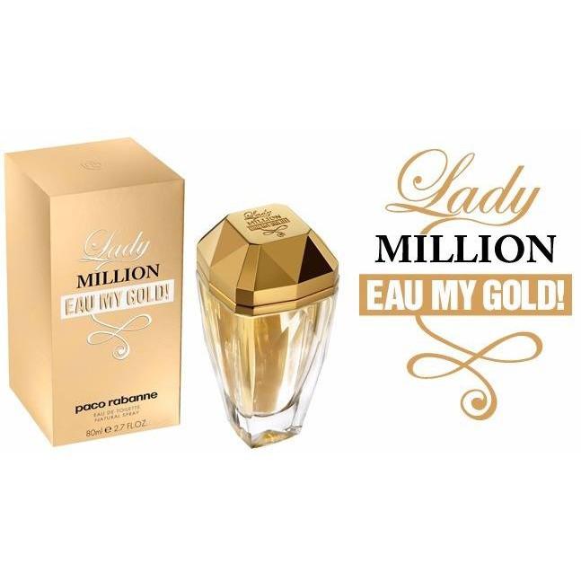Nước hoa nữ Lady Million Eau My Gold EDT 50ml   Shopee Việt Nam