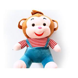 GẤU BÔNG khỉ cười ngộ nghĩnh size 40cm
