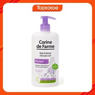 Gel Làm Sạch Và Giảm Cảm Giác Khó Chịu Vùng Kín Corine De Farme Intimate Gel Protect 250ml thumbnail