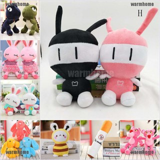 warmhome Adorable Rabbit Animals Plush Fluffy Stuffed Animal Cartoon Doll Toys Kids Gifts thro