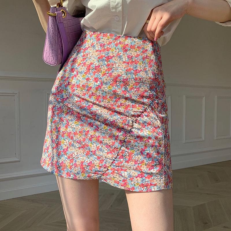 4933192544 - Chân Váy Dài Họa Tiết Hoa Thời Trang Nữ Tính