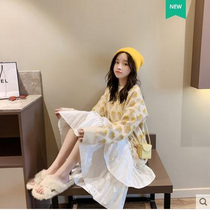 new fashion sweater must buy long sleeve sweater high quality recommended Korean sweater low price Knitwear Korean gir