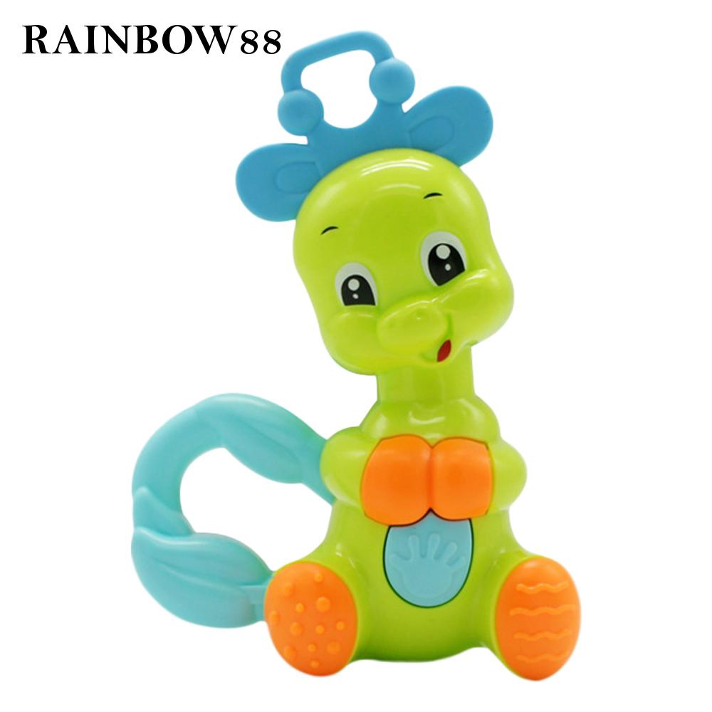Shaking Rattles Early Educational Toy New Baby Safe