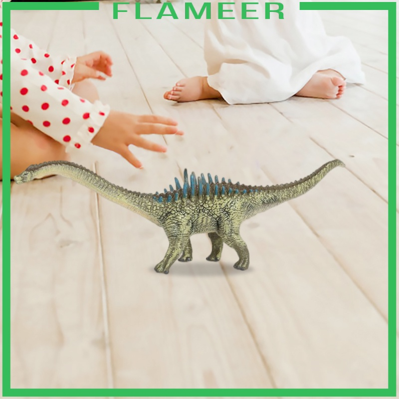 [FLAMEER] Realistic Kids Solid Dinosaur Wild Animal Agustinia Educational Toys Gifts