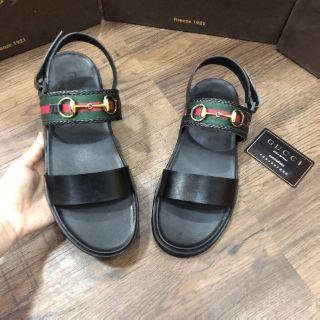 Sandal GG nam hàng cc siêu bền