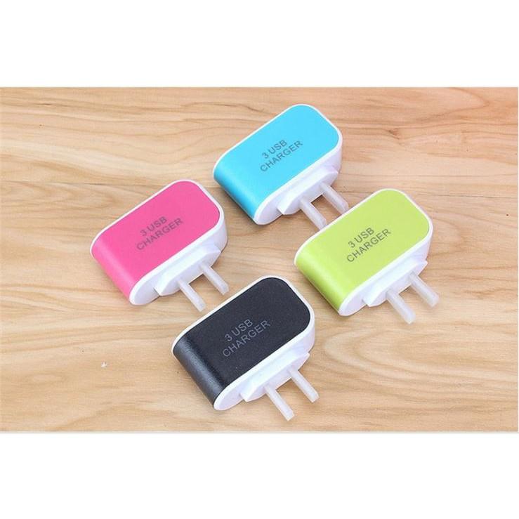 Củ sạc điện thoại đa năng 3 cổng USB - 3482769 , 997266311 , 322_997266311 , 59000 , Cu-sac-dien-thoai-da-nang-3-cong-USB-322_997266311 , shopee.vn , Củ sạc điện thoại đa năng 3 cổng USB