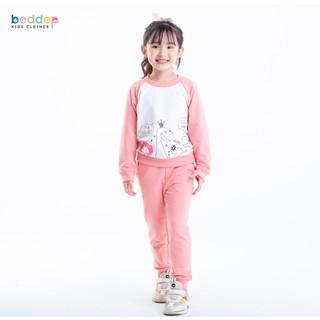 Đồ bộ Beddepkids Clothes chất nỉ dày dặn cho bé gái từ 1 đến 8 tuổi G14 thumbnail