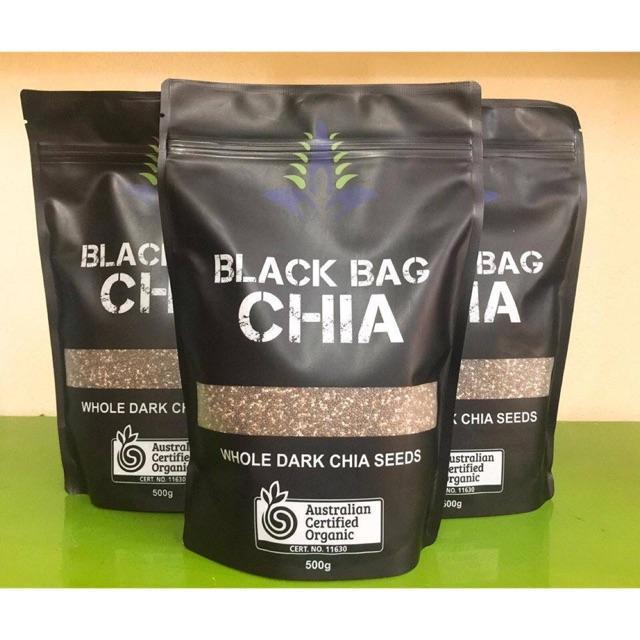 Hạt Chia đen Black Bag Chia tốt cho sức khoẻ