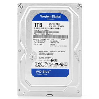 Ổ cứng HDD Western Digital Blue 1TB 3.5″ SATA 3 – WD10EZEX- kèm cáp sata 3