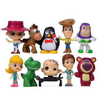 #ReadyStock# 10Pcs/set Toy Story 4 Buzz lightyear Doll Gift For Kid Toys
