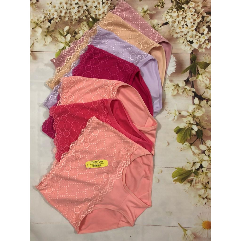 Set 10 quần lót nữ cotton (60-72kg) cạp cao kèm gen bụng pha ren - 3515531 , 875239095 , 322_875239095 , 300000 , Set-10-quan-lot-nu-cotton-60-72kg-cap-cao-kem-gen-bung-pha-ren-322_875239095 , shopee.vn , Set 10 quần lót nữ cotton (60-72kg) cạp cao kèm gen bụng pha ren