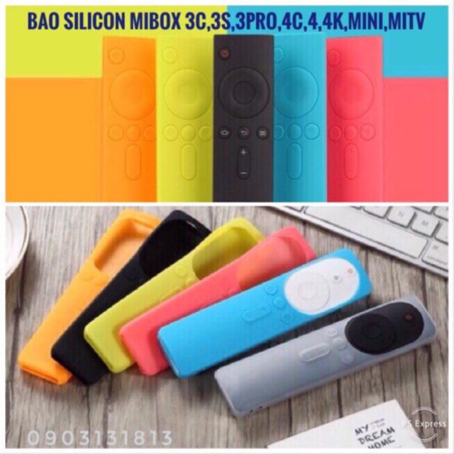 Bao silicon remote Mibox 3c, 3s, 3s pro, 4c, 4, 4K, mini, miTV