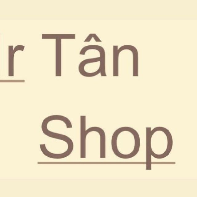 Mr Tân Shop