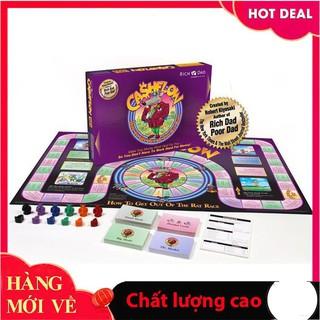 [Trợ giá] [Free Ship+Mã Giảm 5%] Trò chơi tài chính Cash Flow 101 Tiếng Việt_Hàng cao cấp