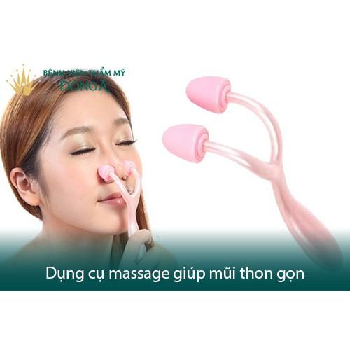 Dụng Cụ Massage Mũi Thon Gọn - Giúp Nâng Mũi Thiết Kế Khá Thông Minh, Hiệu Quả