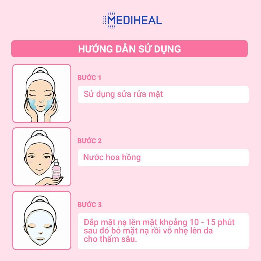 Mặt nạ nâng cơ chống lão hoá Mediheal Pepta Lifting Ampoule Mask 20ml [K107]