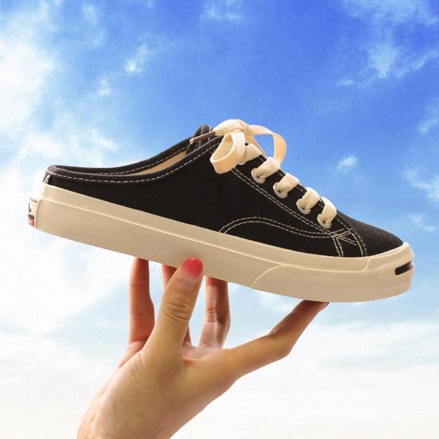Giày nữ thể thao hở gót quảng châu sẵn hàng