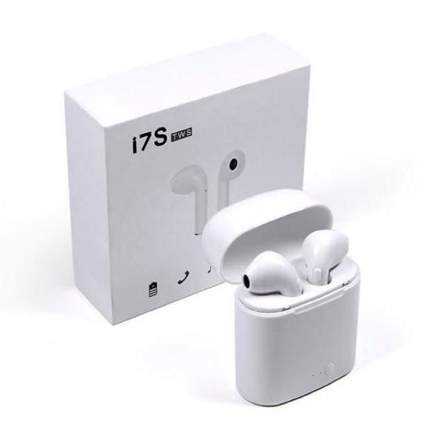(Miễn Phí Vận Chuyển HN & HCM) Tai nghe bluetooth I7S TWS âm thanh cực hay ( nghe 2 tai)