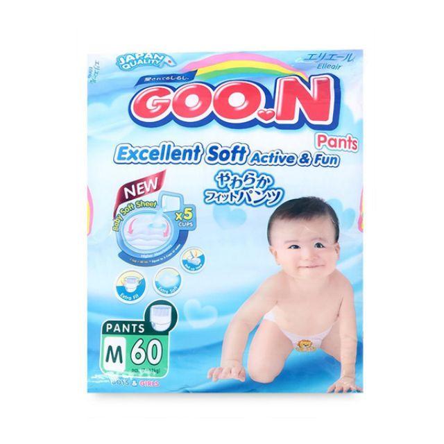 Tã quần Goon Slim M60-L48-Xl42-Xxl34