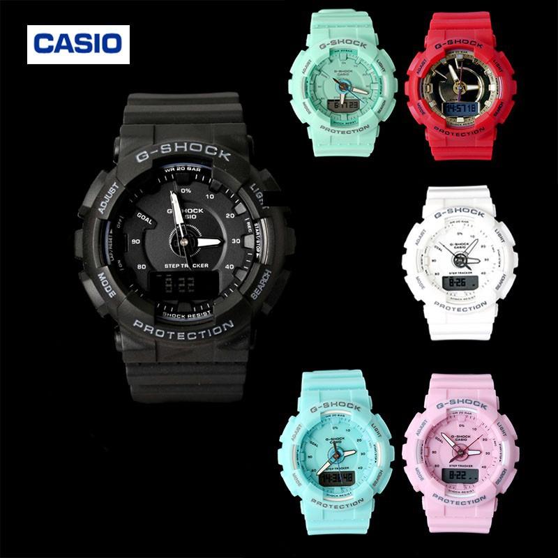 Casio Casio นาฬิกากันน้ำของแท้ GMA-S130 G-SHOCK นาฬิกาผู้หญิงนาฬิกาสปอร์ต 11