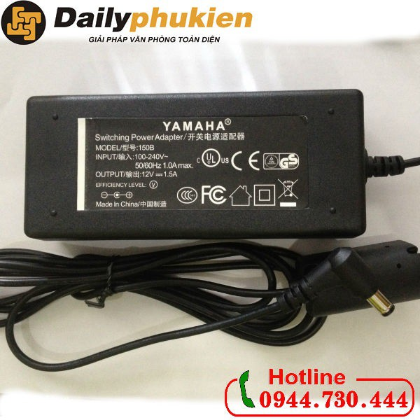 Adapter nguồn đàn Yamaha 12V 1.5A chính hãng - 2882813 , 972426441 , 322_972426441 , 280000 , Adapter-nguon-dan-Yamaha-12V-1.5A-chinh-hang-322_972426441 , shopee.vn , Adapter nguồn đàn Yamaha 12V 1.5A chính hãng