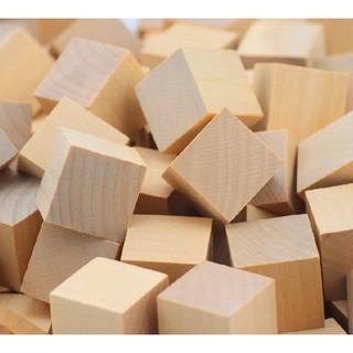 50 khối vuông gỗ vuông 3cm và những ý tưởng sáng tạo từ sp này thumbnail