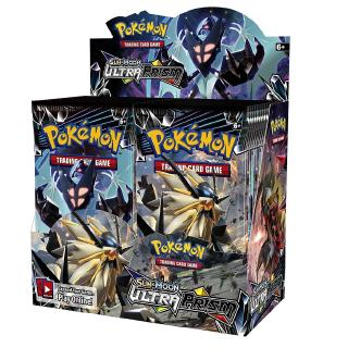 Sun & Moon Ultra Prism 36 Booster Pack Lot Whole Booster Box POKEMON TCG SM5