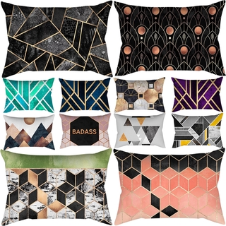Geometric Sofa Cover Cushions Covers Decoration Chair Polyester Cover Pillow Case Home Living