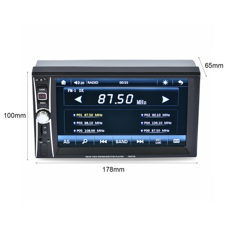 Máy MP5 màn hình cảm ứng 6.6 inch tích hợp đa chức năng cho xe ô tô