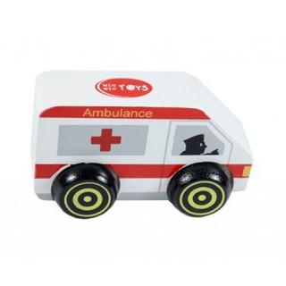 đồ chơi gỗ cho bé – xe cứu thương
