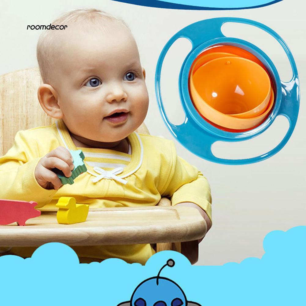 Tô ăn xoay 360 độ chống tràn cho bé
