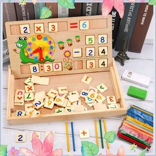 [Top] Bảng gỗ toán học thông minh phát triển trí tuệ cho bé [ SP039331] [Đẹp]