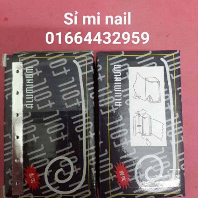 Giấy bạc quấn ủ phá gel loại có lưỡi cắt - 3161087 , 362619396 , 322_362619396 , 20000 , Giay-bac-quan-u-pha-gel-loai-co-luoi-cat-322_362619396 , shopee.vn , Giấy bạc quấn ủ phá gel loại có lưỡi cắt