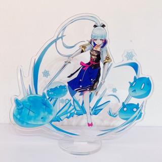 Tượng mica Standee anime Kamisato Ayaka - Genshin Impact