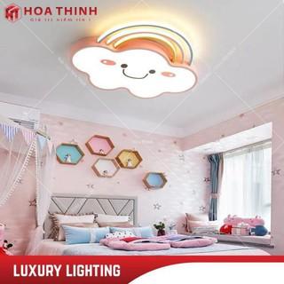 (Bảo hành 2 năm) Đèn trẻ em đám mây, ốp trần trang trí phòng ngủ trẻ em, 3 chế độ ánh sáng, tiết kiệm điện năng