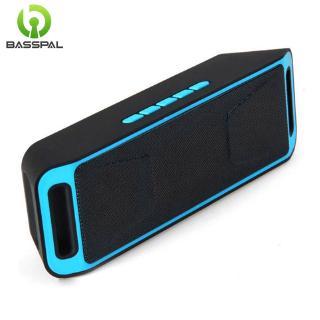 Loa Basspal SC208 không dây Bluetooth hỗ trợ nghe nhạc MP3 FM nhỏ gọn phù hợp sử dụng ngoài trời
