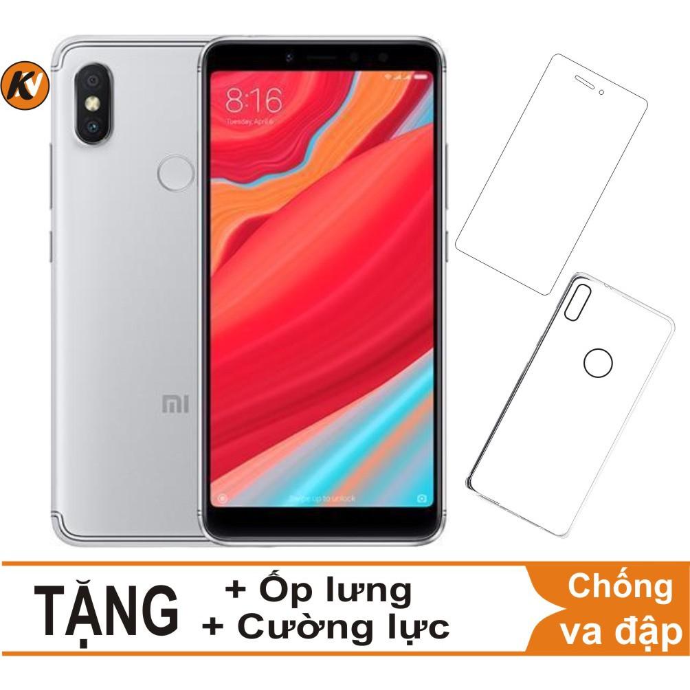 Combo Điện thoại Xiaomi Redmi S2 32GB Ram 3GB - Hàng nhập khẩu + Ốp lưng + Cường lực