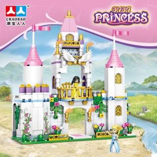 [FREESHIP 70k-Loại 1] Bộ Lego xếp hình lâu đài công chúa bé gái