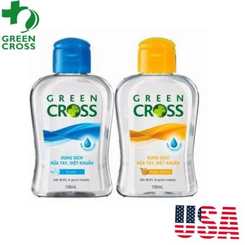 Nước Rửa Tay Khô Green Cross Diệt Sạch 99.9% Vi Khuẩn 100ml