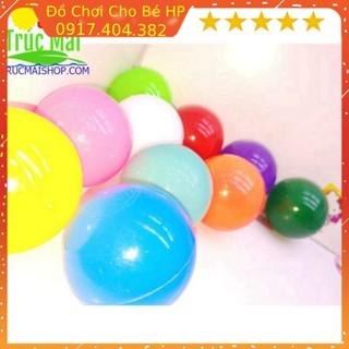 [SIÊU SALE] set 10 quả bóng nhựa Việt Nam 10 màu đồ chơi cho bé học tập phát triển kỹ năng cơ bản Đồ Chơ thumbnail