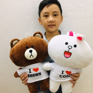 Combo gấu bông brown &cony 35 cm