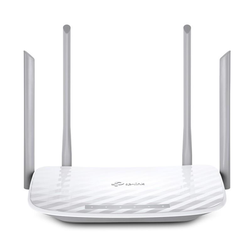 [Mã 267ELSALE hoàn 7% đơn 300K] Router băng tần kép Wi-Fi AC1200 TPLink Archer C50
