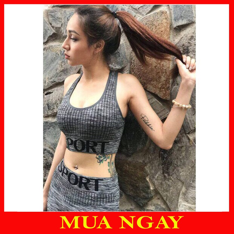 Bộ Đồ Tập Gym, Yoga Sport Nữ Cao Cấp