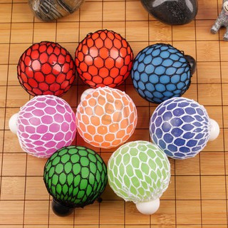 Squishy Mesh Ball Stress Relief Hand Fidget Kit Sensory Fun Toy Autism ADHD