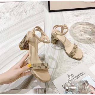 Sandal cao gót gucci hàng cao cấp siêu đẹp fullbox