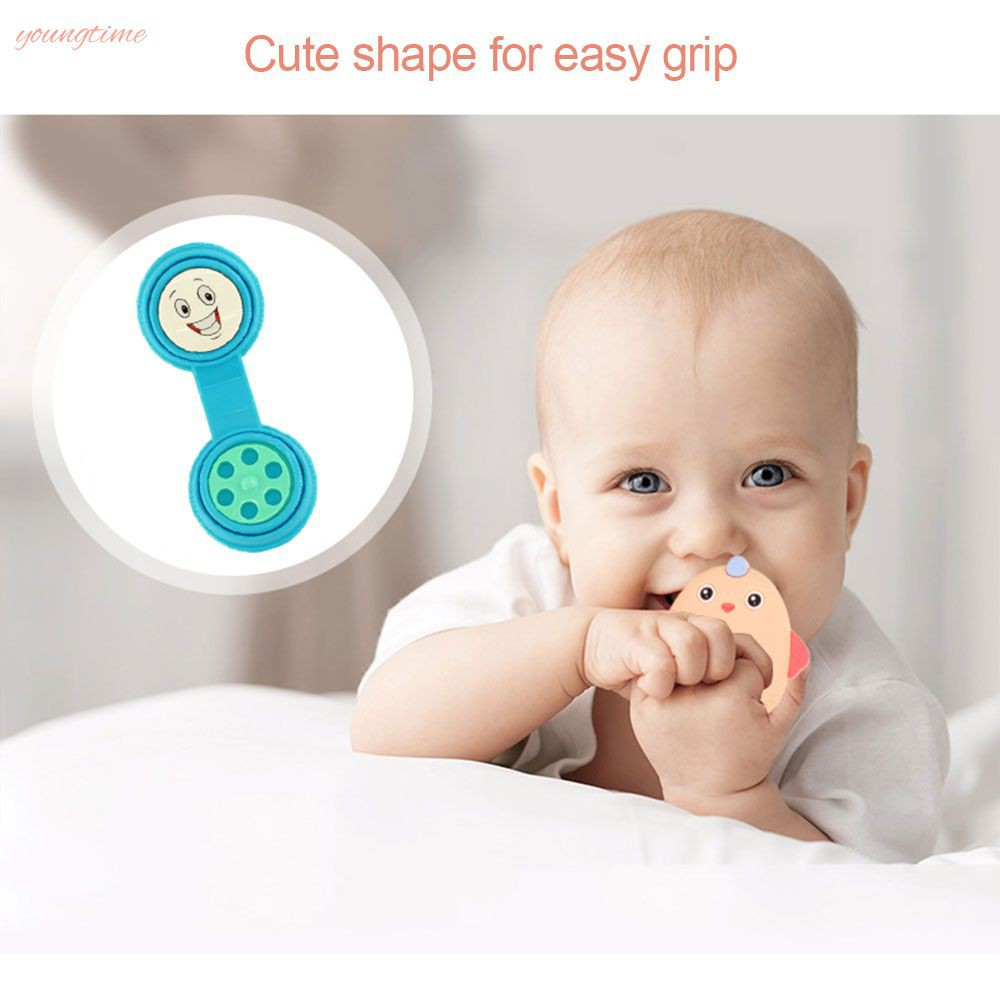 young Newborn toy baby 0-1 years old handbell baby puzzle can bite gum 4 piece set young