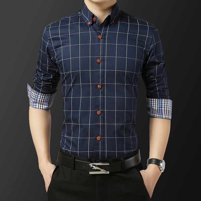 Áo Sơ Mi Nam Dài Tay Vải Lụa 3D Cao Cấp Không Nhăn Không Xù AD000013