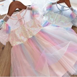 Đầm Công Chúa Elsa Cho Bé Gái