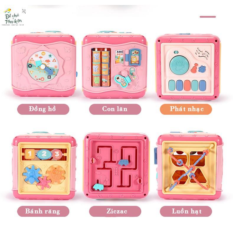 Hộp đồ chơi 6 mặt có nhạc - kích thích phát triển kỹ năng cho bé